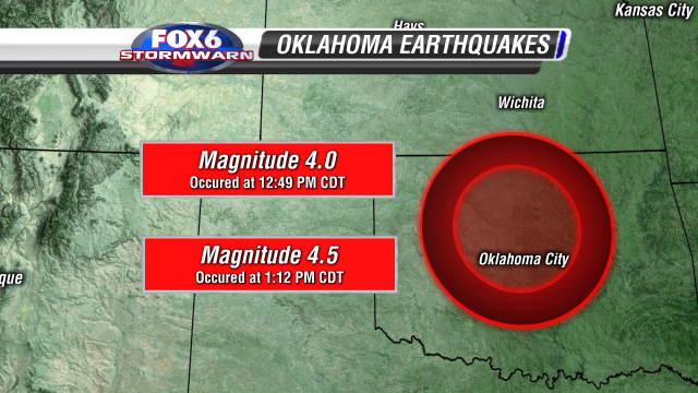 OKLAHOMA EARTHQUAKE