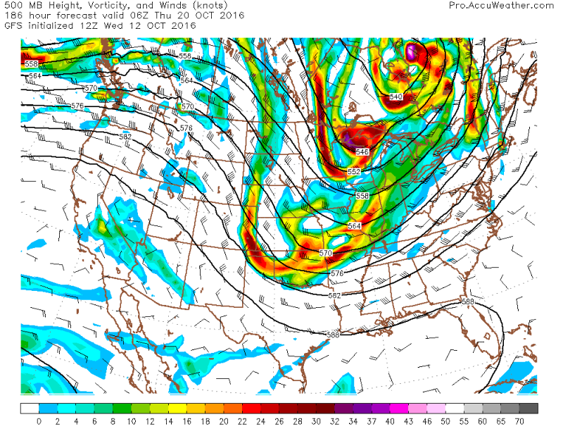Gfs trough next week