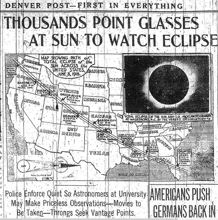 Newspaper 1918