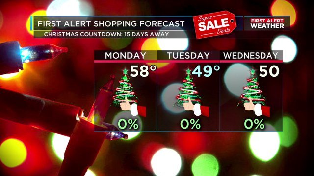 SHOPPING FORECAST