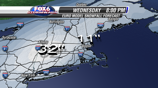 EURO Snowfall Old Stopping Ground