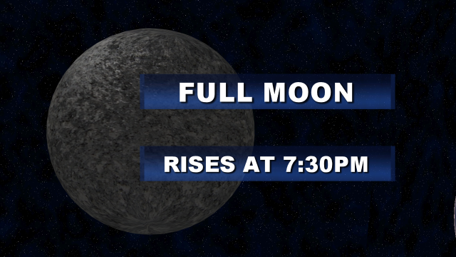 Full Moon Graphic