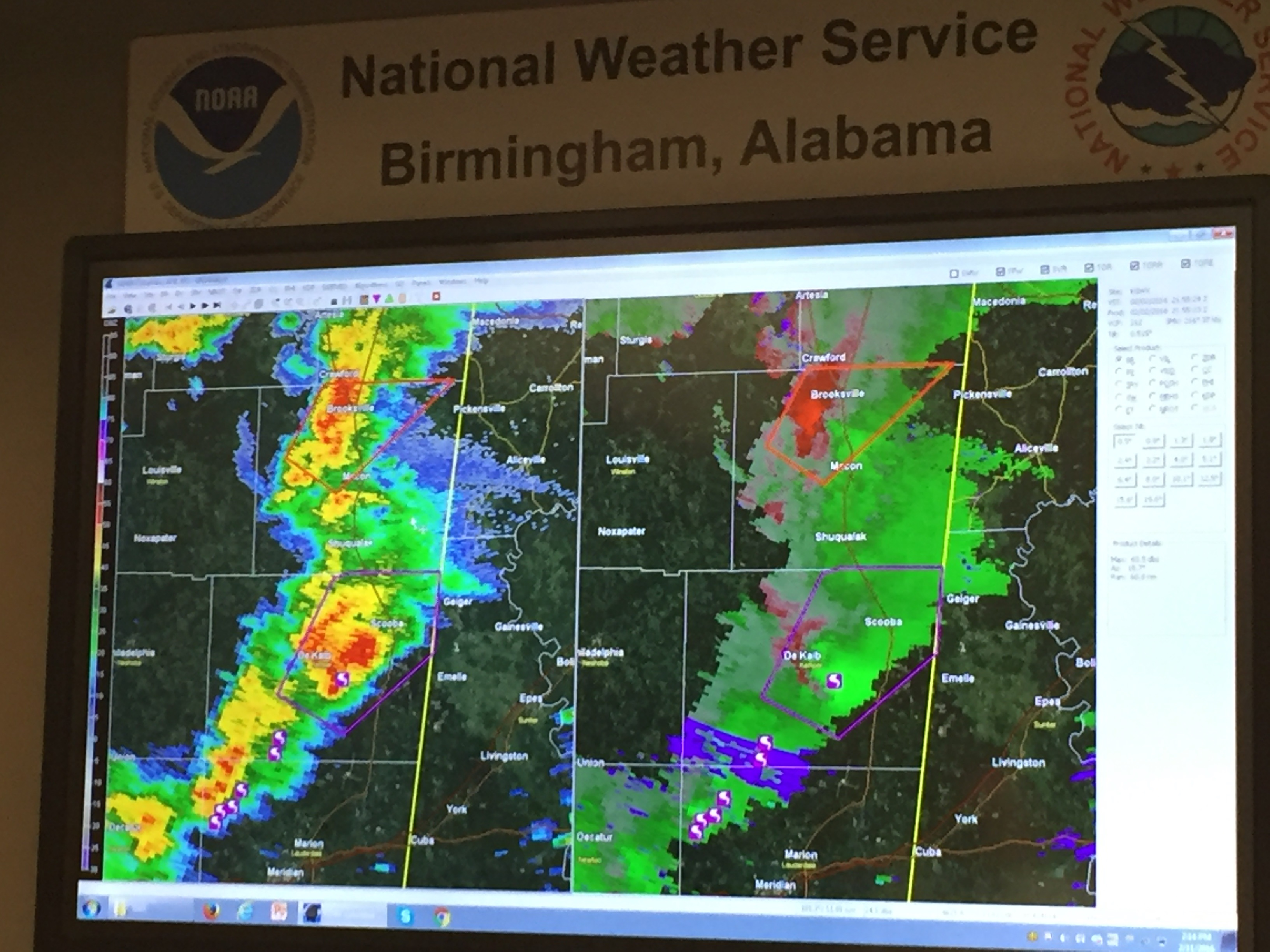 WBRC First Alert Weather Weather Data - National weather map and radar