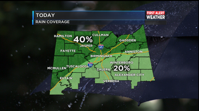 RAIN COVERAGE BREAKDOWN AM