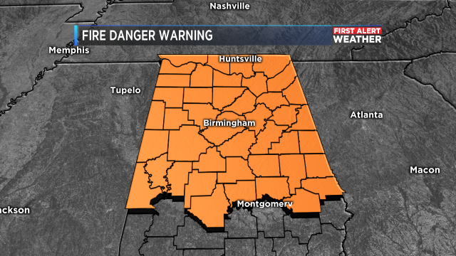 FIRE DANGER WARNING