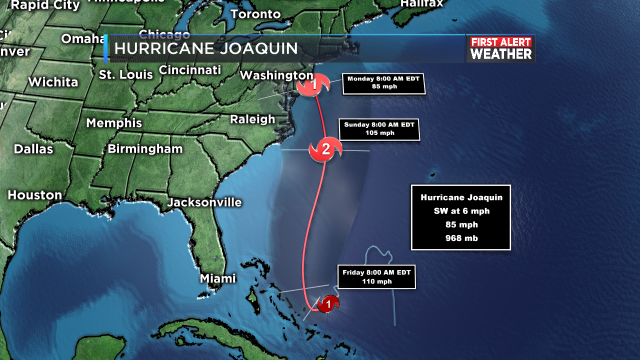 Hurricane Joaquin continues to strengthen and is heading for the ...
